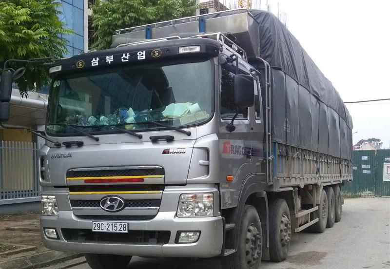 Chành xe tải ghép hàng vận chuyển đi Vũng Tàu giá rẻ