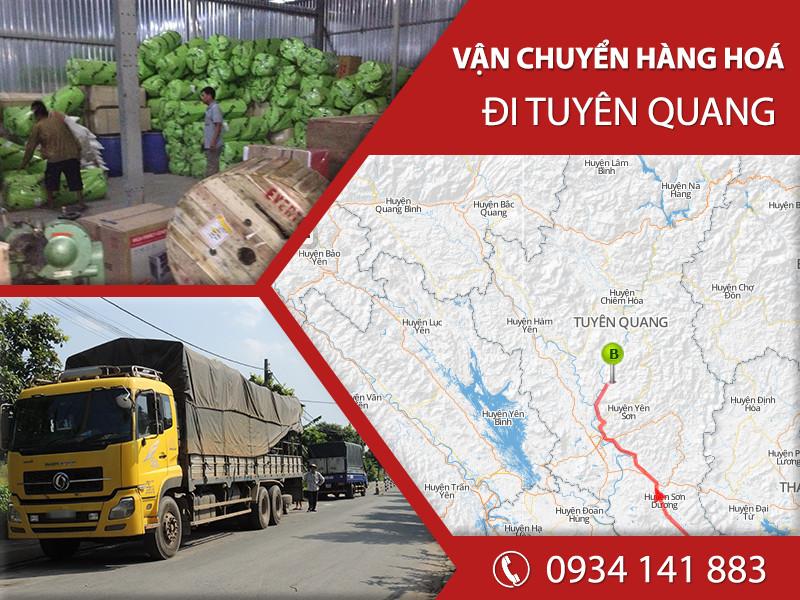 Chành xe tải ghép hàng vận chuyển đi Tuyên Quang giá rẻ