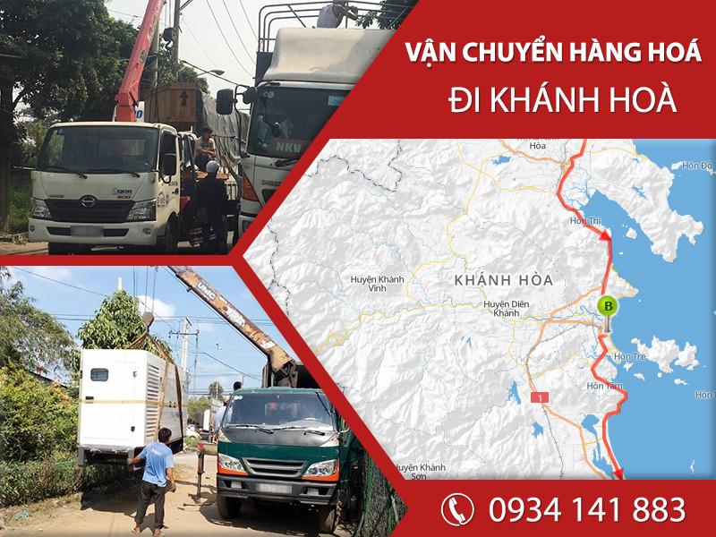 Chành xe tải ghép hàng vận chuyển đi Khánh Hòa giá rẻ