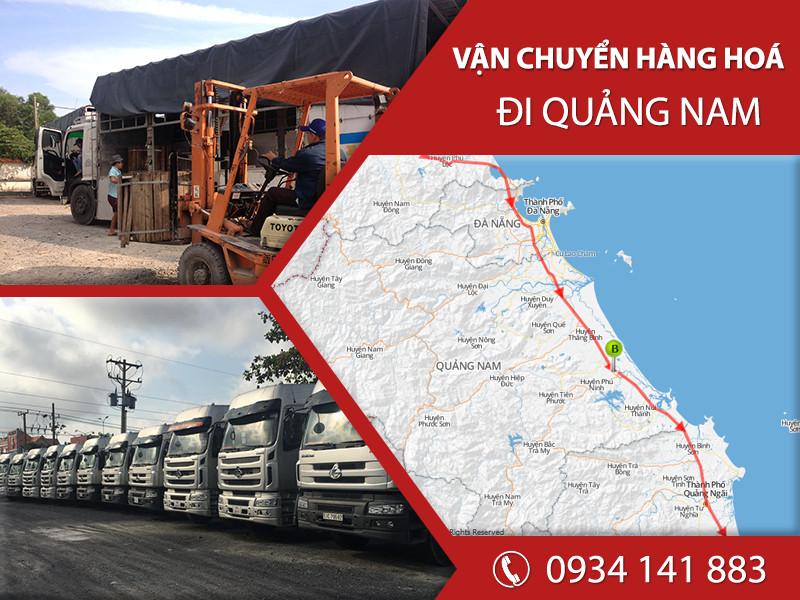 Chành xe tải ghép hàng vận chuyển đi Quảng Nam giá rẻ